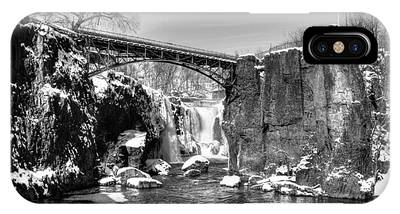 Great Falls In The Winter IPhone Case