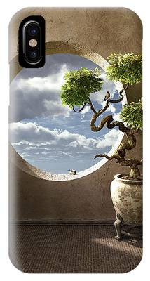 Window Digital Art iPhone Cases