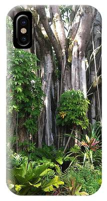 Hawaiian Tropical Forest IPhone Case