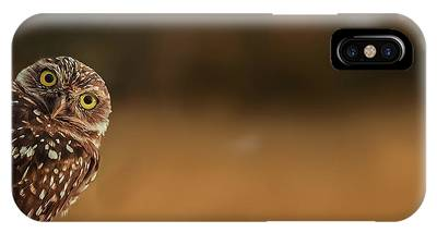 Burrowing Owl Phone Cases