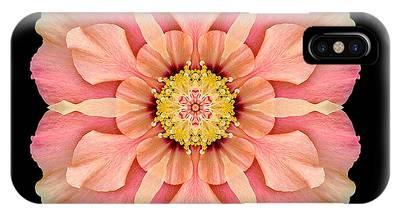 Hibiscus Rosa-sinensis I Flower Mandala IPhone Case