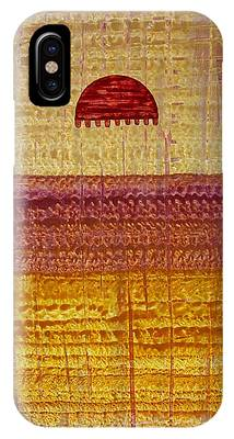 High Desert Horizon Original Painting IPhone Case
