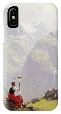 High In The Mountains IPhone Case