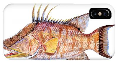 White Marlin Phone Cases