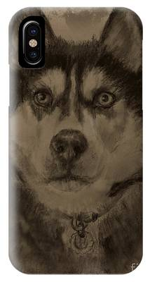 Honorable Husky IPhone Case