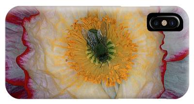 Bee On Flower Phone Cases