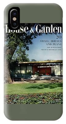 House & Garden Cover Of The Kurt Appert House IPhone Case