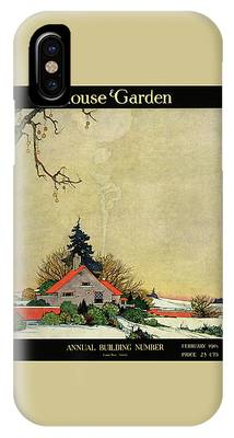 House And Garden Annual Building Number Cover IPhone Case