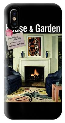 House And Garden Cover Featuring A Living Room IPhone Case