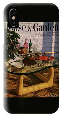 House And Garden Cover Featuring Brunch IPhone Case