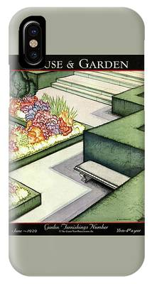 House And Garden Garden Furnishings Number Cover IPhone Case