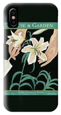 House And Garden Garden Furnishings Number IPhone Case