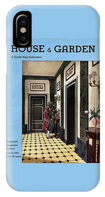 House And Garden Household Equipment Number IPhone Case