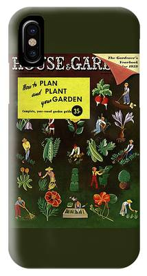 House And Garden How To Plan And Plant IPhone Case