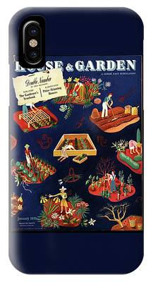 House And Garden The Gardener's Yearbook Cover IPhone Case