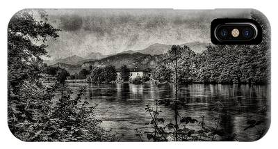 House On The River IPhone Case