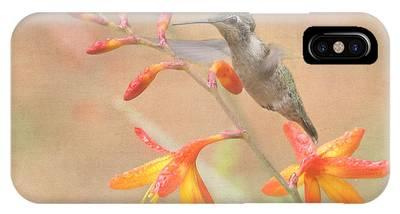 Annas Hummingbirds Phone Cases