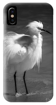 Snowy Egret Phone Cases