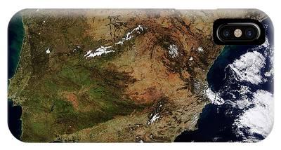 Iberian Peninsula Phone Cases