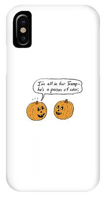 I'm All In For Trump He's A Person Of Color IPhone Case