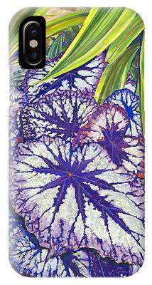 In The Conservatory-7th Center-violet IPhone Case