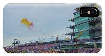 Indianapolis 500 May 2013 Balloons Race Start IPhone Case