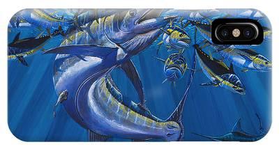 Marlin Azul Phone Cases