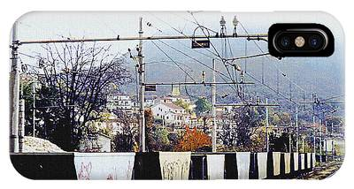 IPhone Case featuring the photograph Italian Graffiti by Donna Proctor
