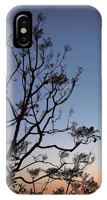 IPhone Case featuring the photograph Jacaranda Sunset by Rona Black