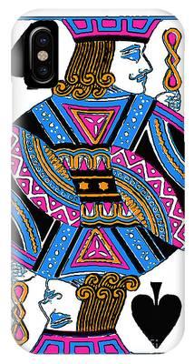Jack Of Spades - V3 IPhone Case