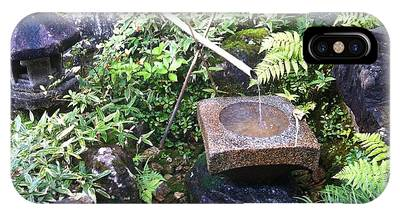 Japanese Garden Meditation IPhone Case