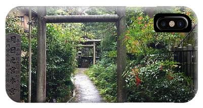 Japanese Temple Passage IPhone Case