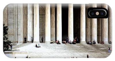 Jefferson Memorial--a Day In The Life IPhone Case