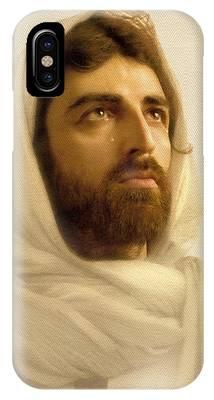 Jesus Face iPhone Cases