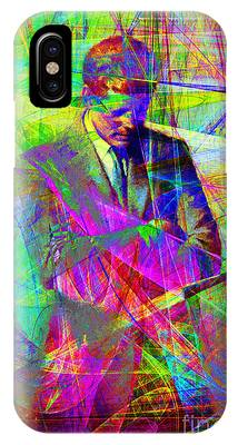 John Fitzgerald Kennedy Jfk In Abstract 20130610 IPhone Case