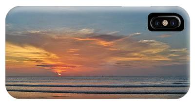 IPhone Case featuring the photograph Jordan's First Sunrise by LeeAnn Kendall