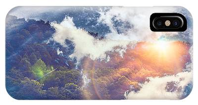 Journey To Another Dimension IPhone Case