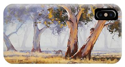 Tree Paintings iPhone Cases