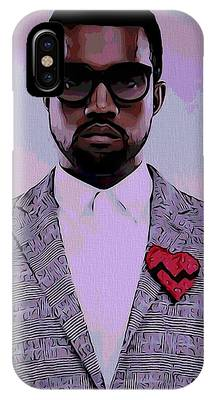 Kanye West Poster Phone Cases