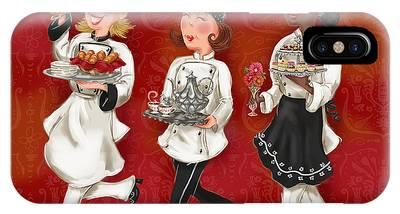 Lady Chefs - Brunch IPhone Case