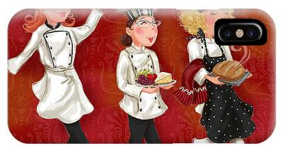 Lady Chefs - Lunch IPhone Case
