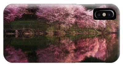 Cherry Blossom Tree Phone Cases