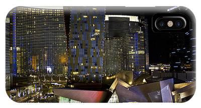 Las Vegas City Center IPhone Case