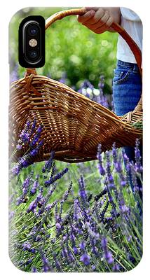 Lavender And Basket IPhone Case