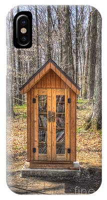 Library In The Woods IPhone Case