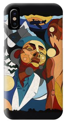Life Of Roy Painting With Hidden Pictures IPhone Case