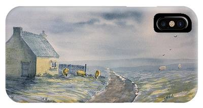 Lifting Mist At Trough House In Glaisdale IPhone Case