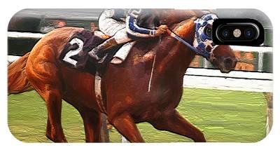 Race Horse Phone Cases