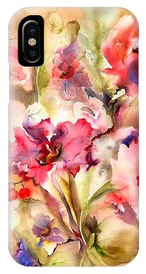 Abstract Floral Phone Cases