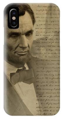 Gettysburg Address Phone Cases